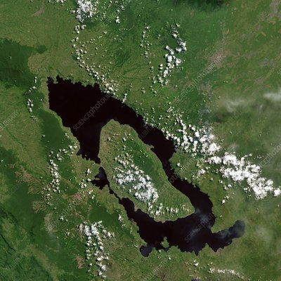 Lake Toba, Indonesia, satellite image