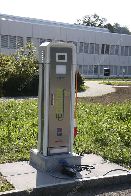 Electric car charger, IBM research