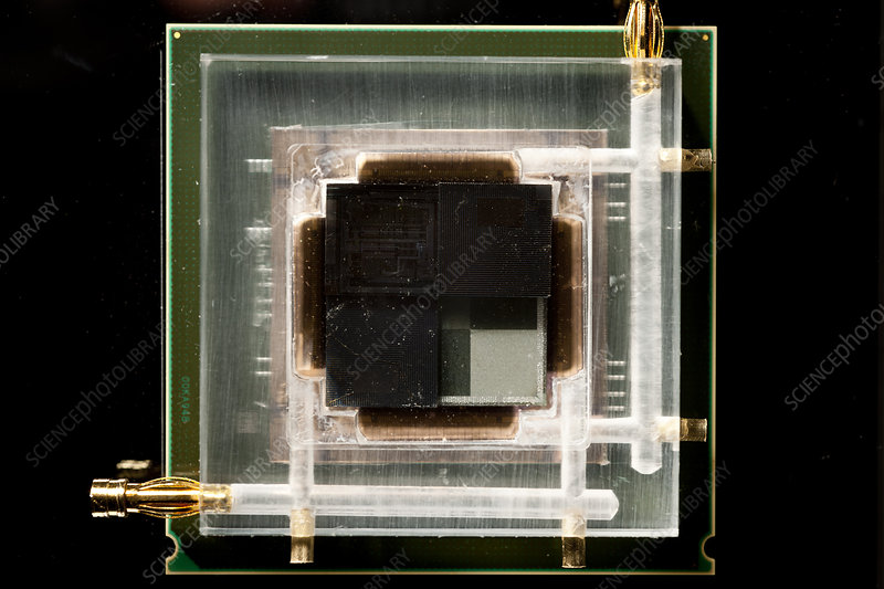 3D chip stack, IBM research
