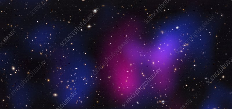 Musketball galaxy cluster, composite