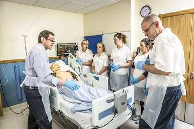 Acute care and resuscitation training