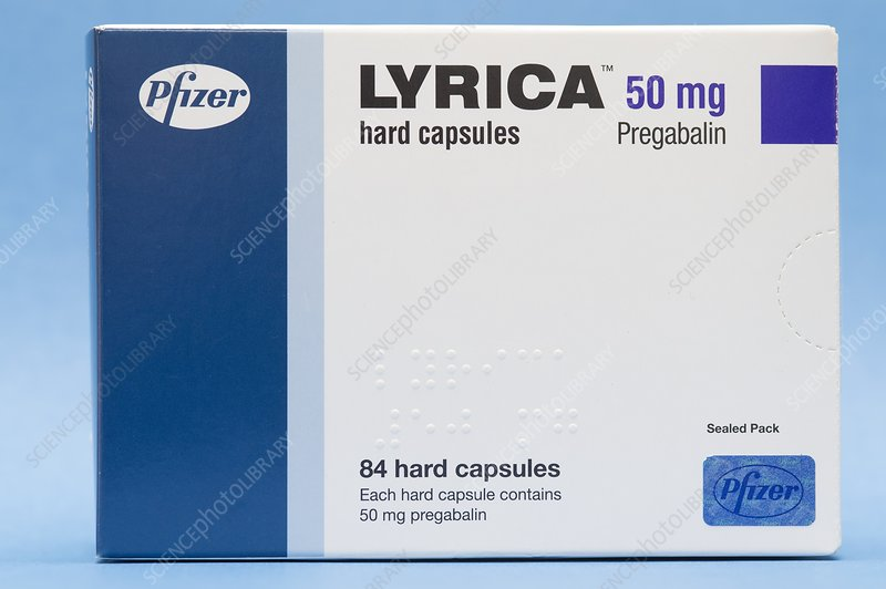Lyrica anticonvulsant drug