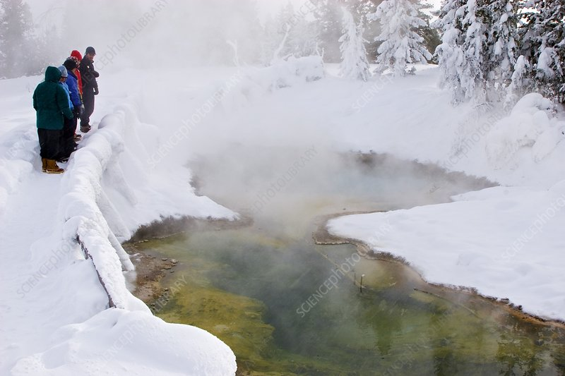 Hot spring, Yellowstone National Park