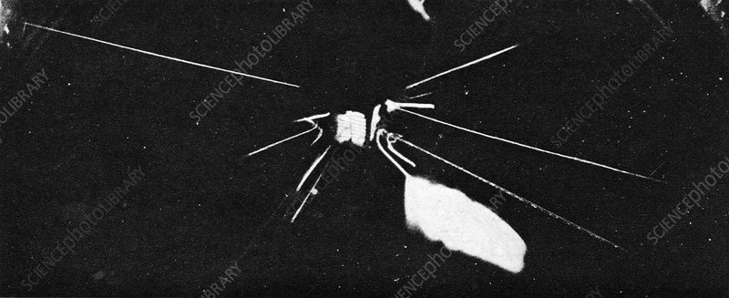 Splitting the atom, historical image