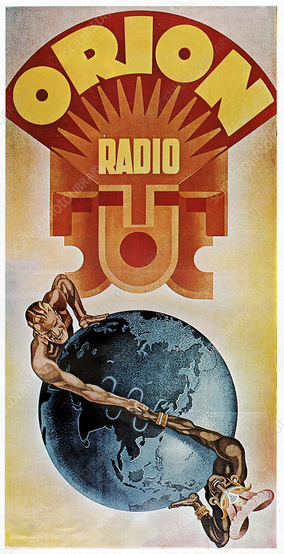 Historical radio station advert