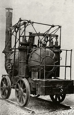 Hedley's Puffing Billy, historical image