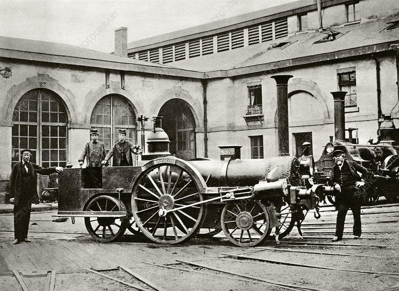La Petite locomotive, historical image