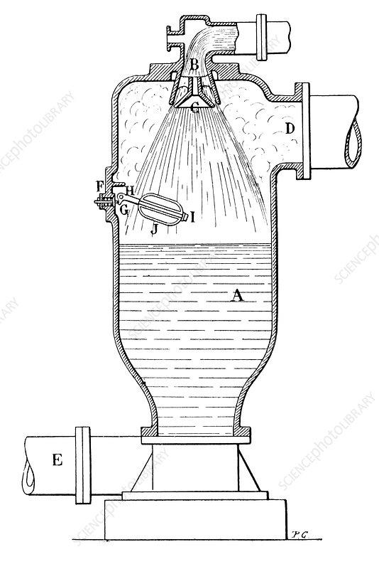 dujardin steam engine  19th century