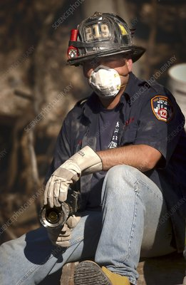 11 September rescue worker, 2001