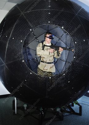 VirtuSphere military training aid