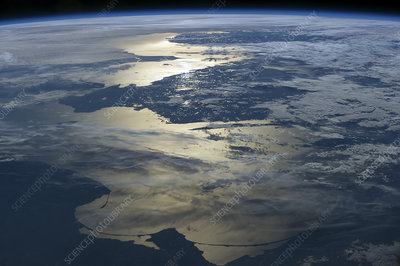 Baltic Sea seen from the ISS