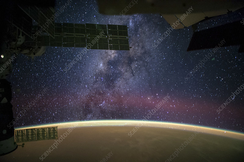Milky Way seen from the ISS