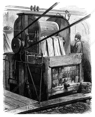 Dyeing industry, 19th century