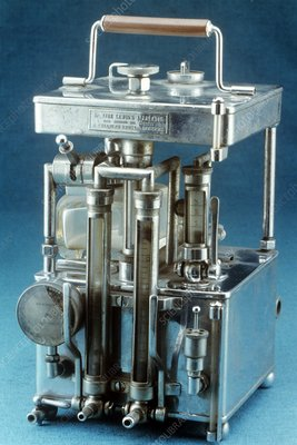 Lewis Intratracheal Apparatus, 1931