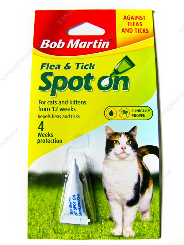 Flea and tick treatment for cats