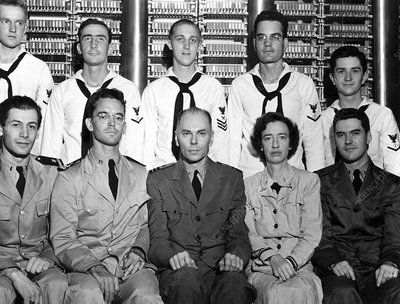Harvard Mark 1 computer team, 1944