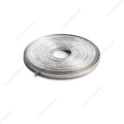 Coil of magnesium ribbon