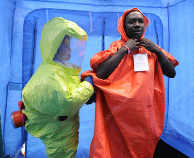 Major emergency decontamination training