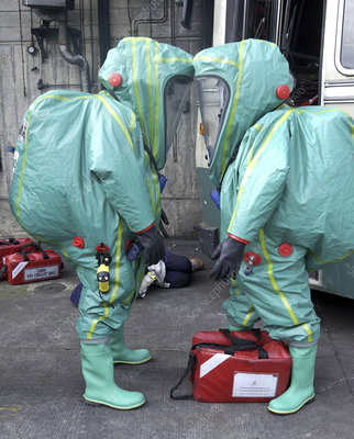 Emergency ventilation, protective suits