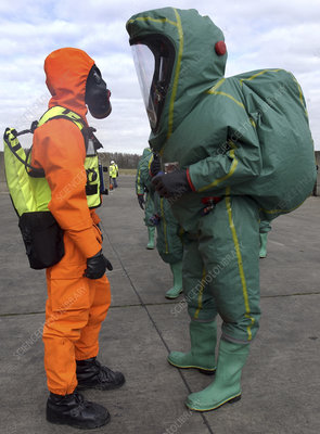 Emergency response protection suits
