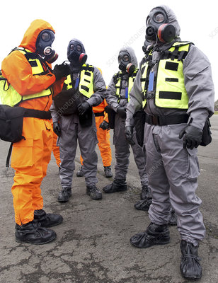 Radiation emergency response workers