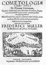 German book on the comet of 1664-5