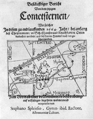 Swiss book on the comet of 1664-5