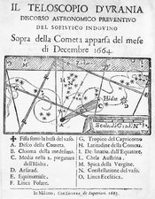 Italian book on the comet of 1664-5