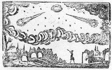 Comet of 1664-5, historical illustration