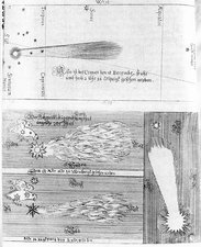 Comet of 1664-5, historical illustrations
