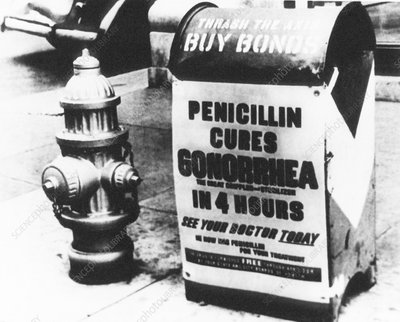 WWII penicillin advert
