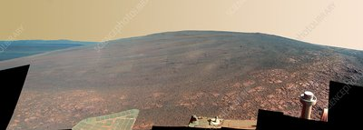 Endeavour Crater, Mars, Opportunity image