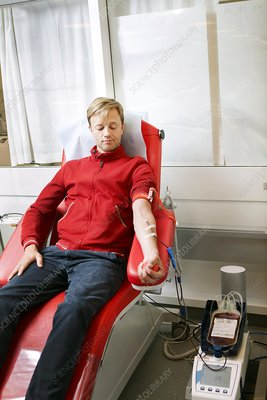 Blood donation clinic