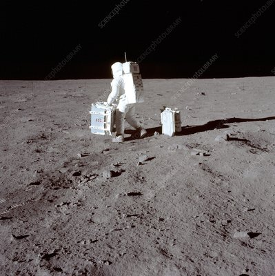 Apollo 11 Moon landing, 1969