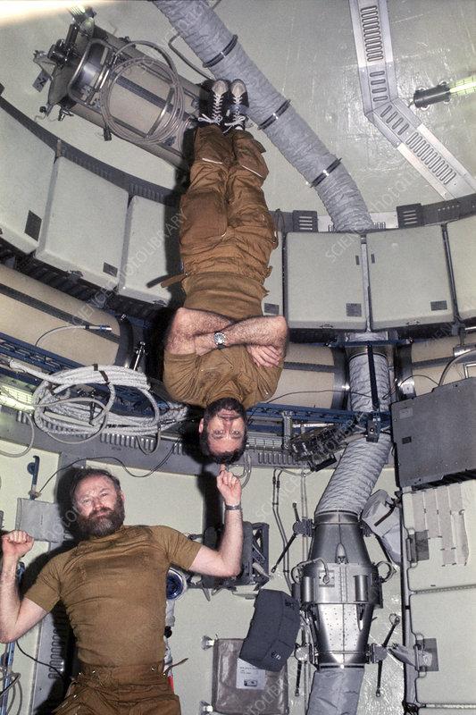 Skylab 4 crew, astronaut photograph