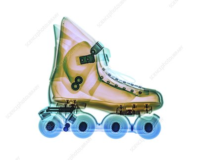 Inline skate, X-ray