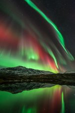Aurora borealis, Norway