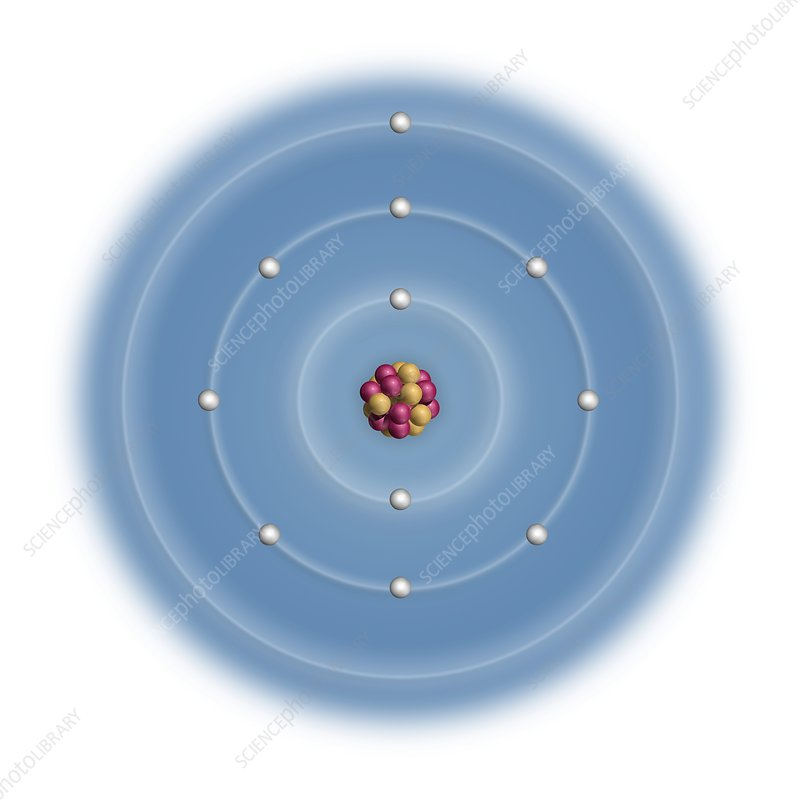 sodium, atomic structure - stock image - c023/2461 - science photo library