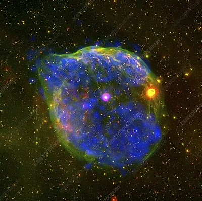 Wolf-Rayet bubble, X-ray composite