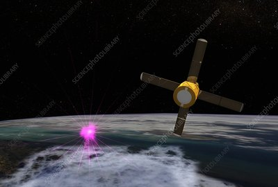 Terrestrial gamma-ray flash, illustration