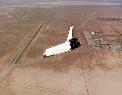 Space Shuttle prototype testing, 1977