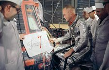 US astronaut John Glenn, Friendship 7