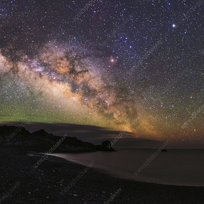 Milky Way over La Palma, Canary Islands