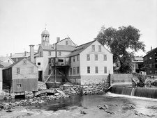Slater cotton mill, 19th century