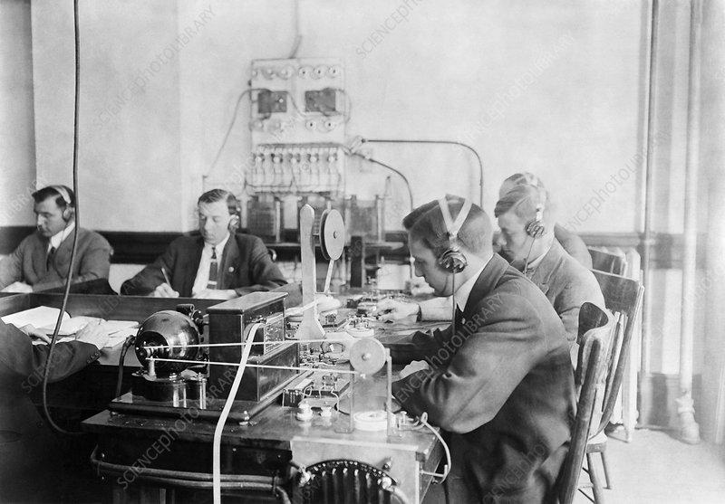 Marconi wireless school, 1910s