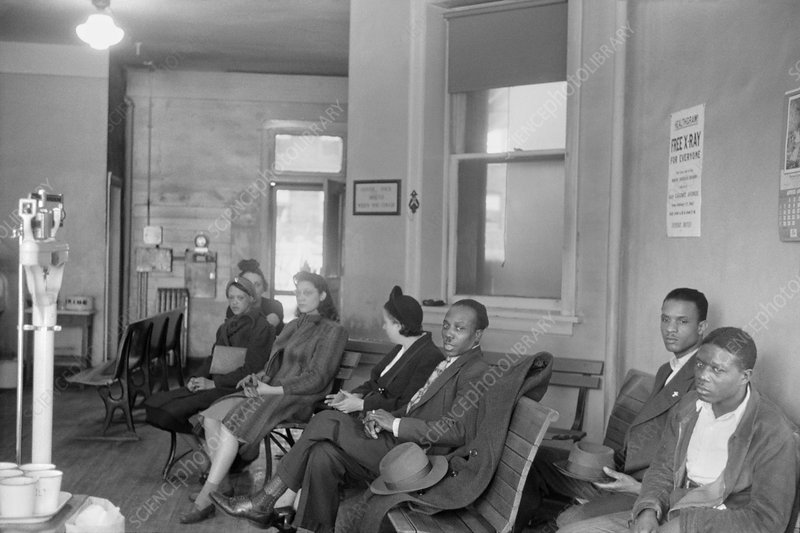 Tuberculosis patients, 1940s