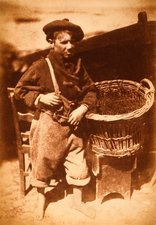 Newhaven fisherboy, 1840s calotype