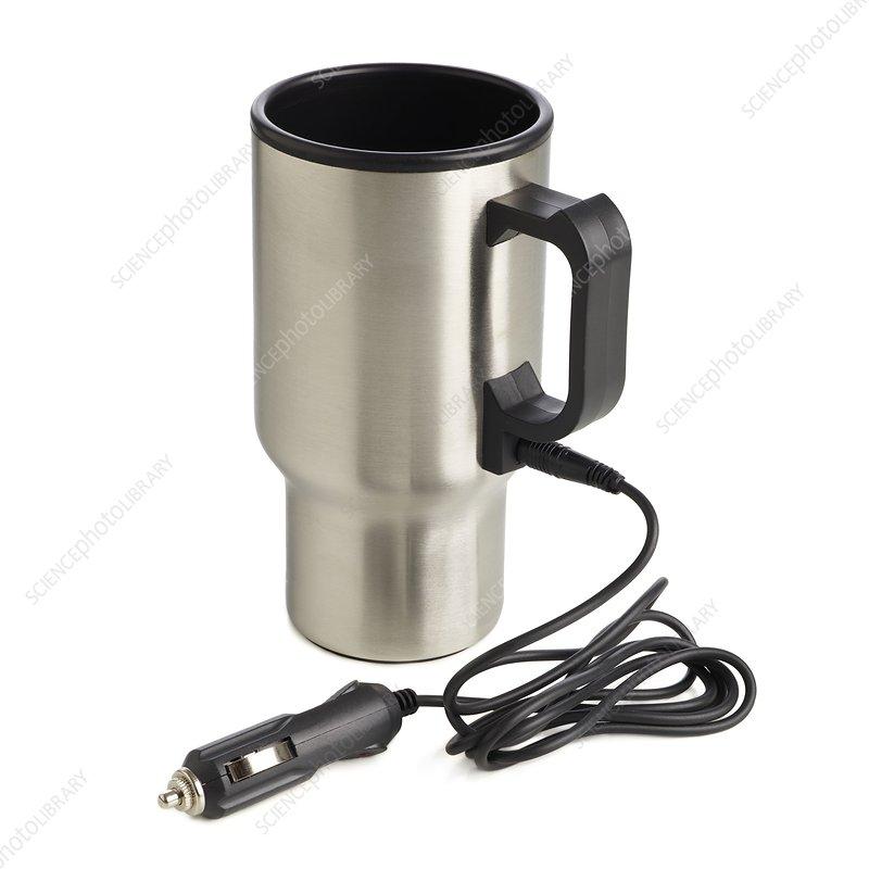 Travel mug and car charger