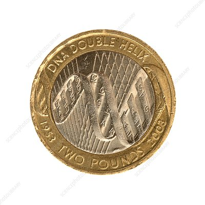 Commemorative two pound coin