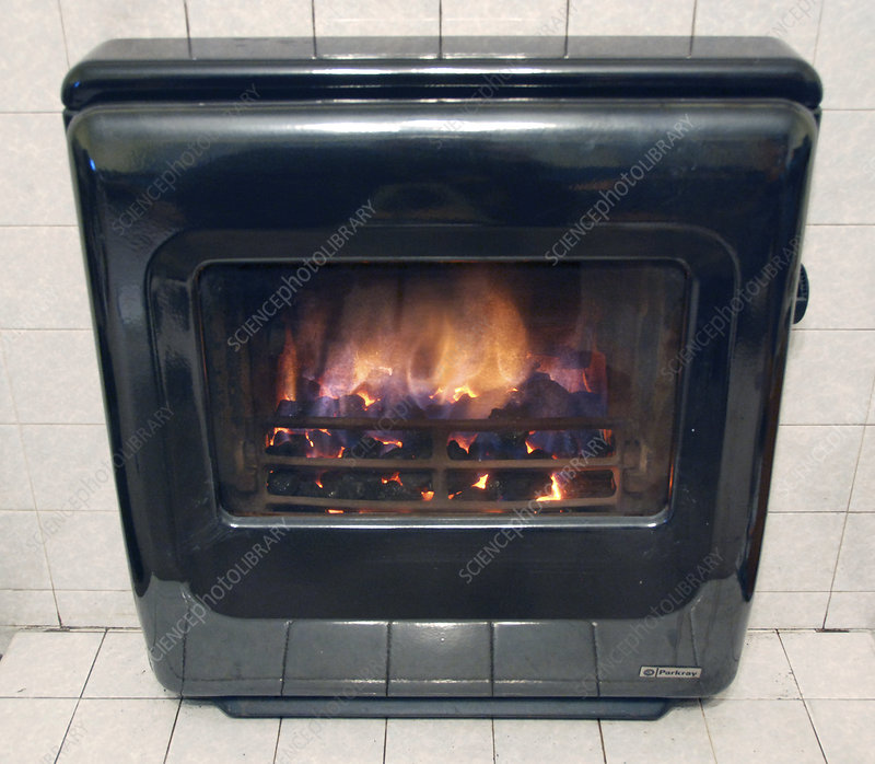 Domestic solid fuel stove